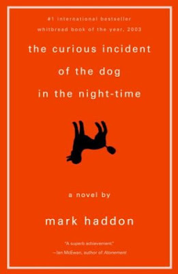 The Curious Incident of the Dog in the Night-Time by Mark Haddon - book cover