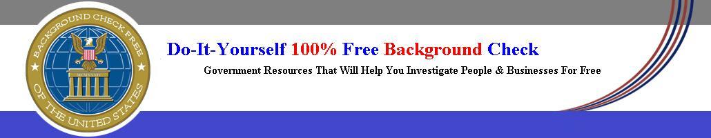 100% Free Criminal Background Check Website Online