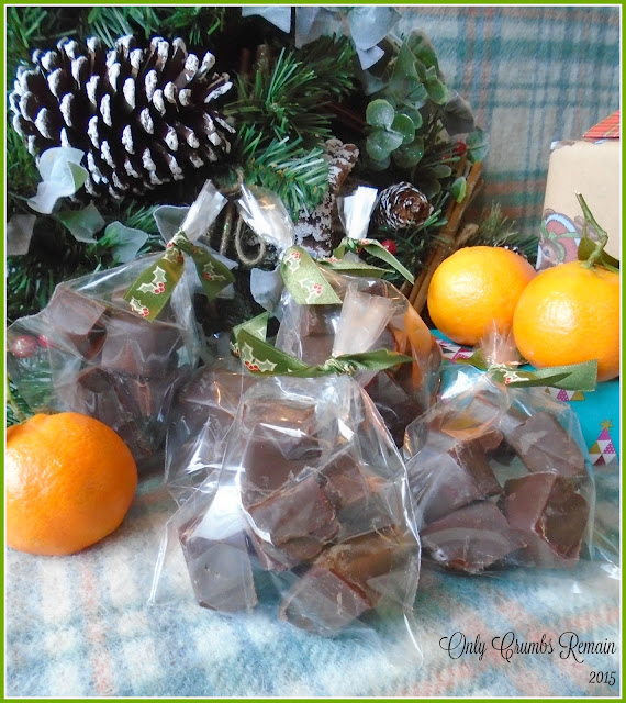 Gifts of Chocolate Orange Fudge