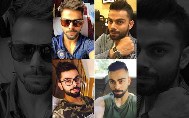Look! Virat's New Hair Style For IPL 2018 : Full Pics Collection Here