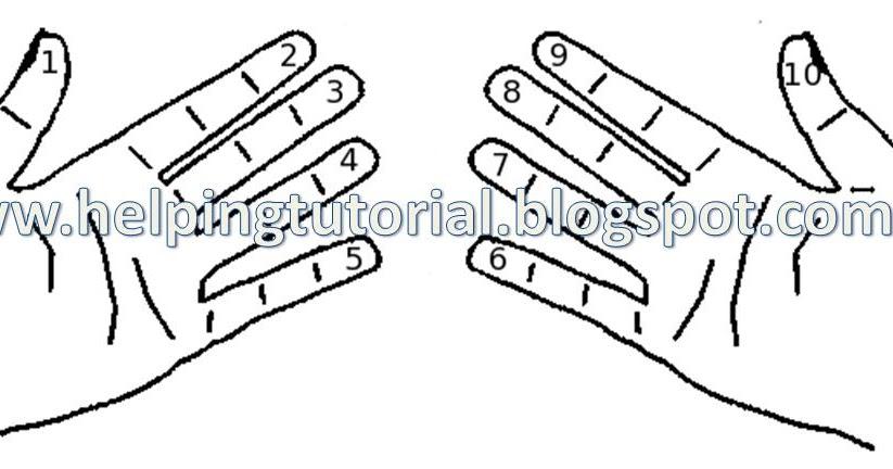 Helping Tutorial: Finger Multiplication of Ninth (9th