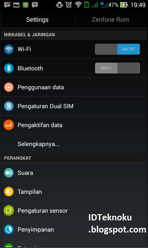 ROM Asus Zenfone 5 untuk Andromax C2 Smooth dan Stabil