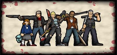Adam Steel's P&P zombie games
