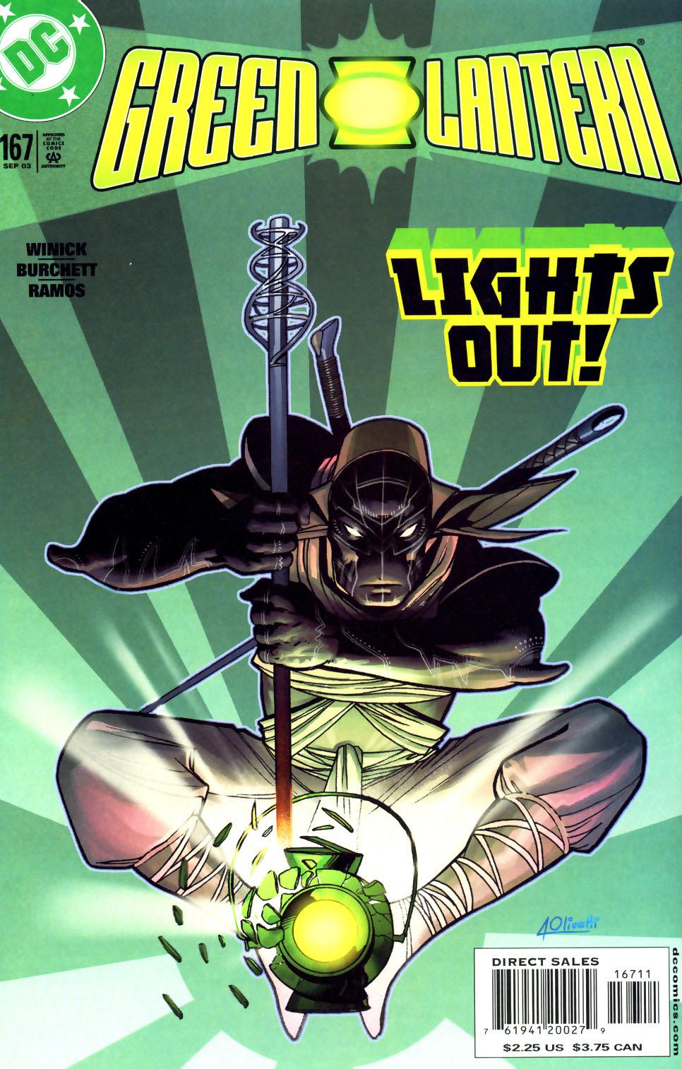 Green Lantern (1990) 167 Page 1