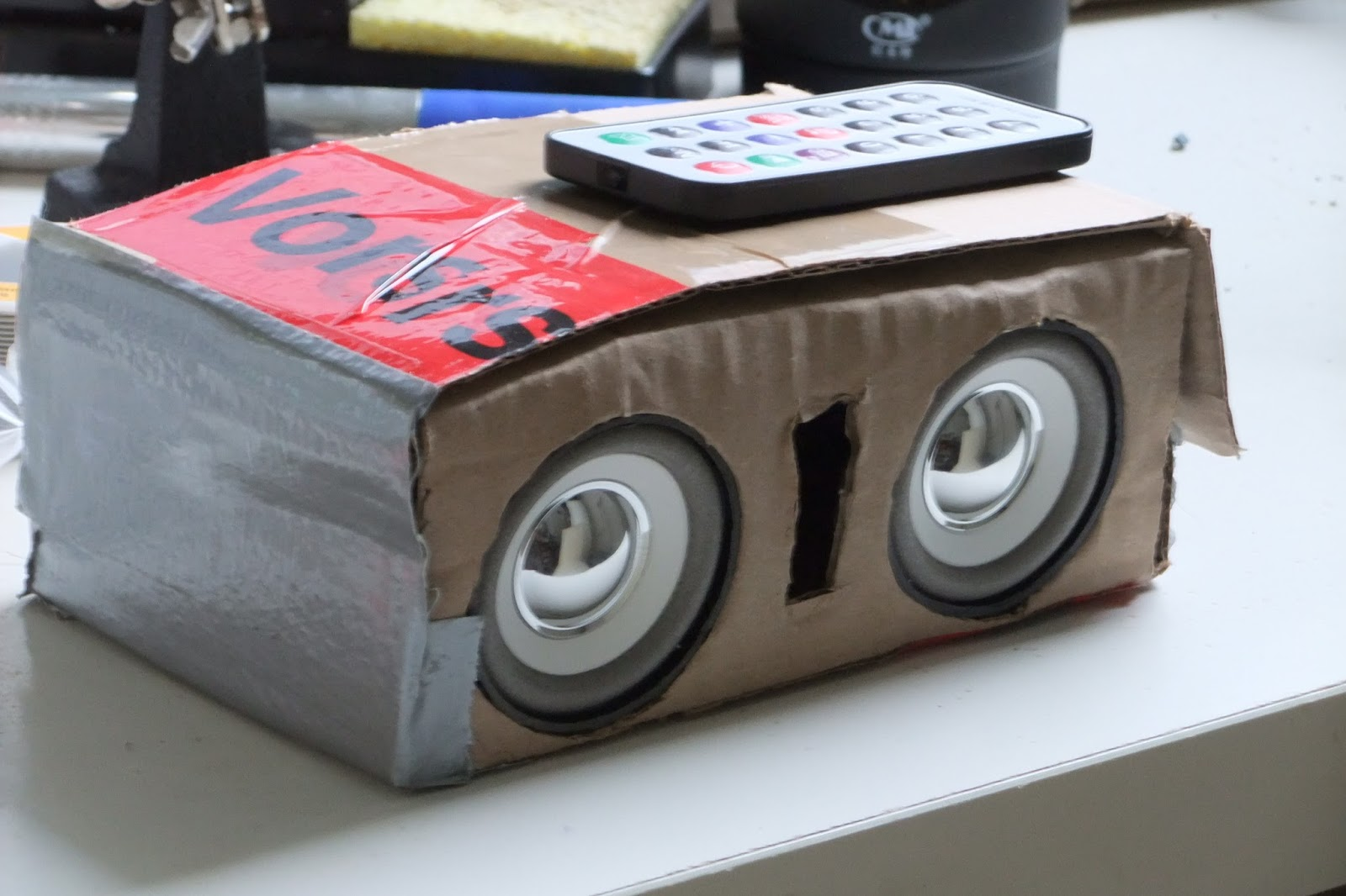 Koepi's Blog: Mobile Boombox with PAM8403