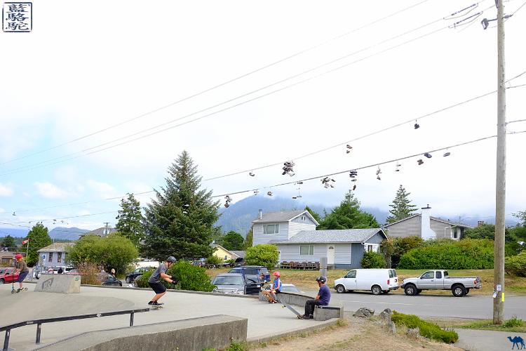 Le Chameau Bleu - Blog Voyage Tofino Canada -Skate Park  de Tofino Canada