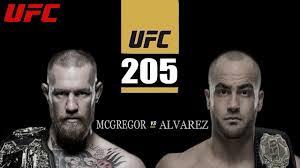 UFC 205 odds lines McGregor Alvarez