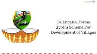 Telangana Grama Jyothi Scheme For Development of Villages