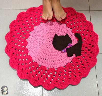 Recopilaci n de alfombras hechas con trapillo manualidades - Cosas de trapillo ...