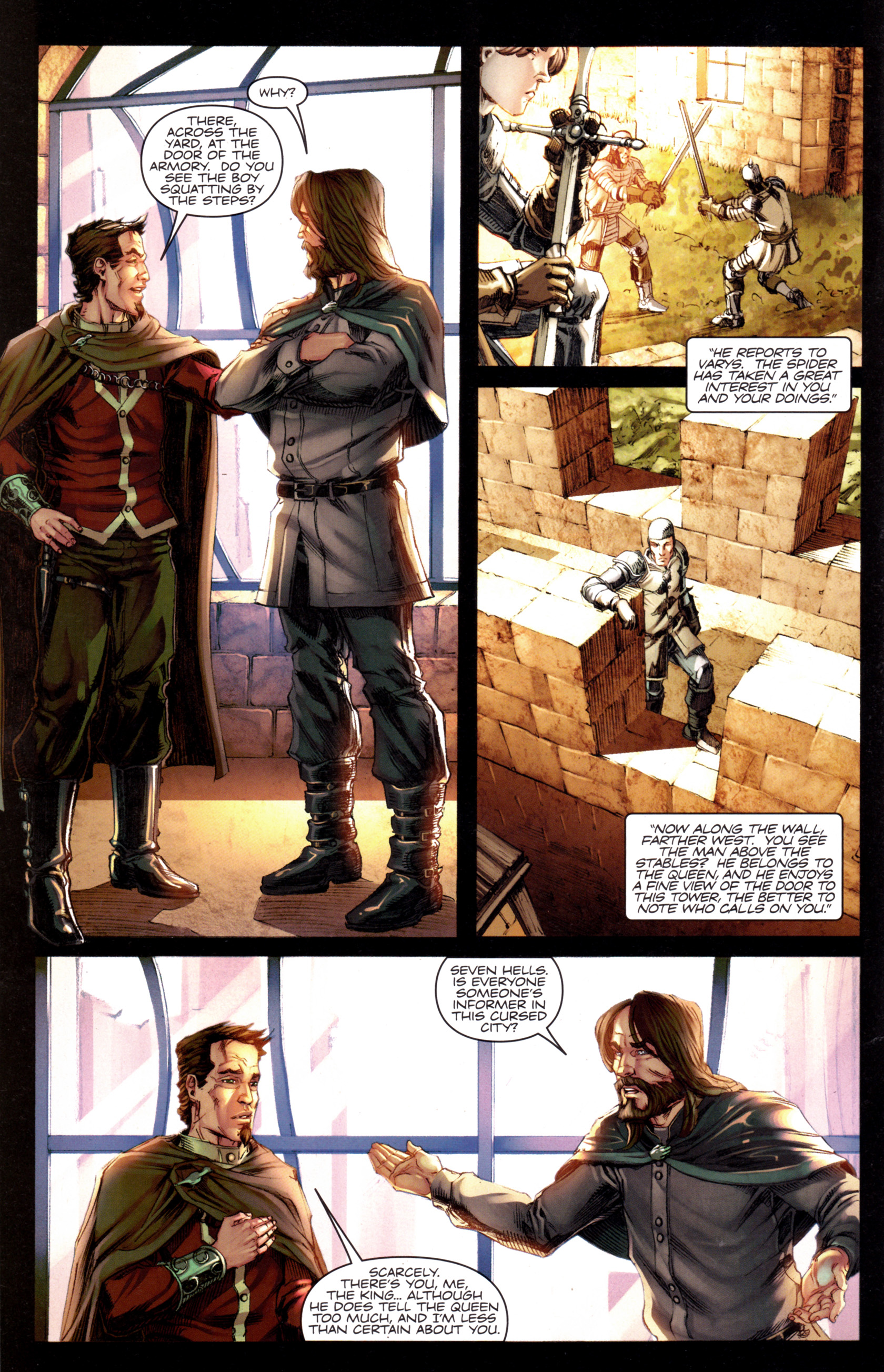 Read online A Game Of Thrones comic -  Issue #8 - 10