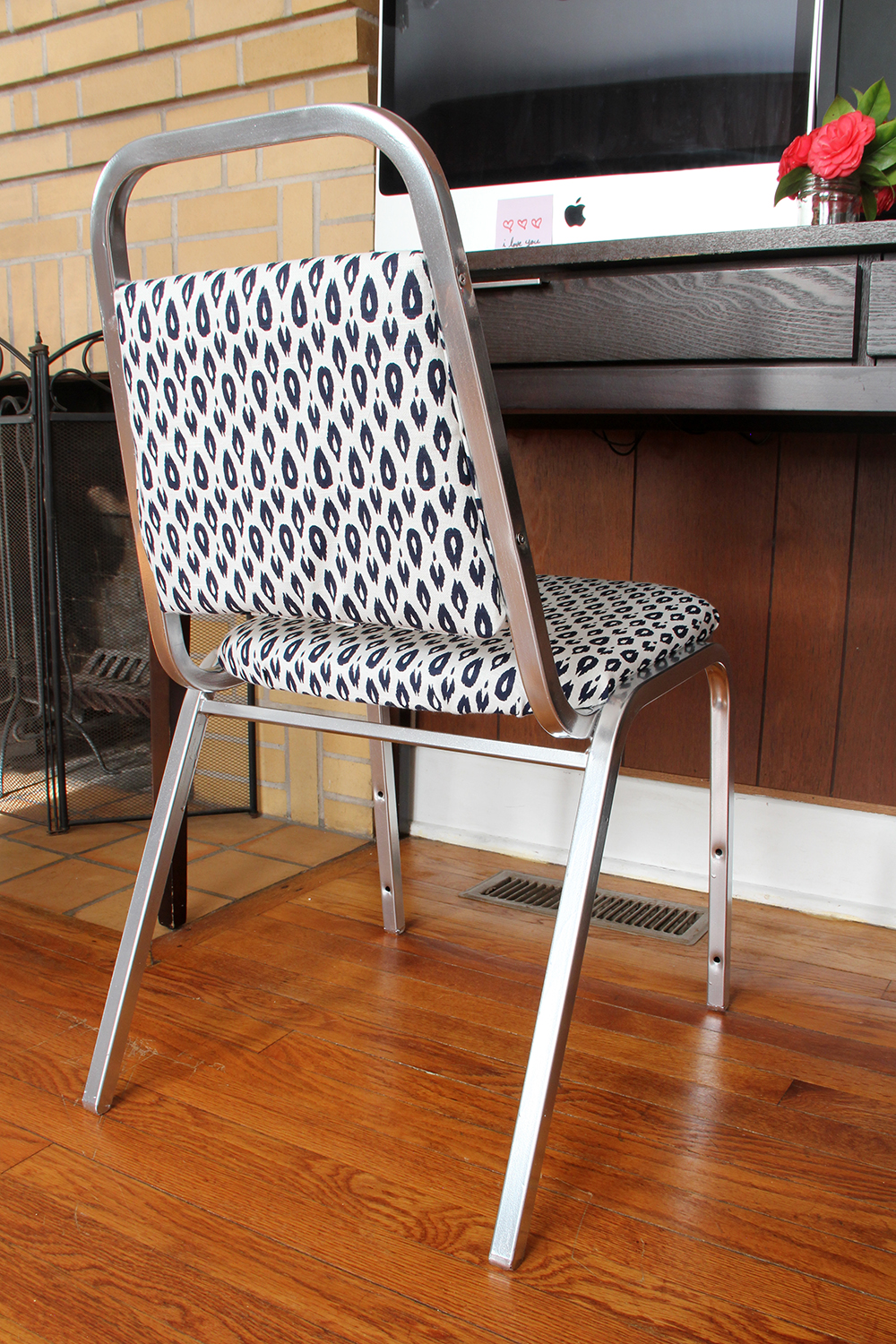 Desk Chair, Transformed!: See the before & after