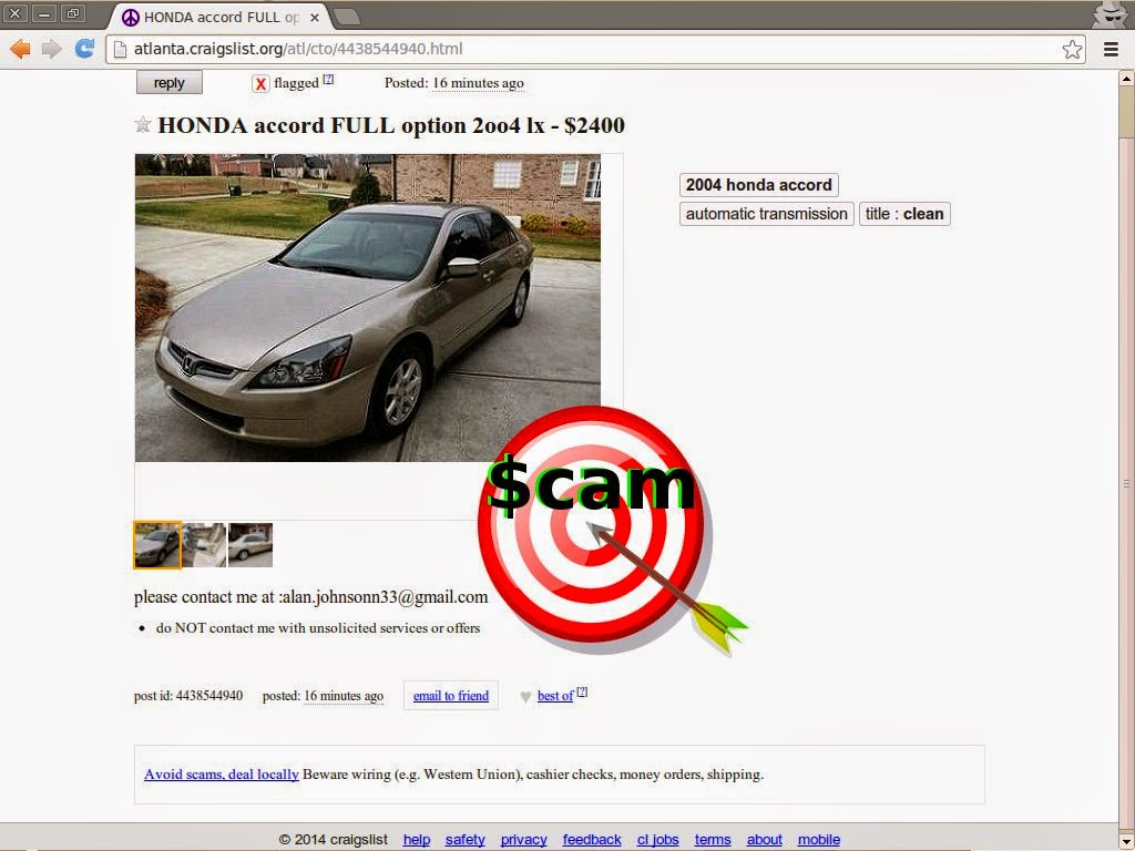 Autotrader Mitula Olx And Everywhere Else Too Scam Vehicle Scama Engine Wiring Harness Update Mists Email Addresses Phone Numbers
