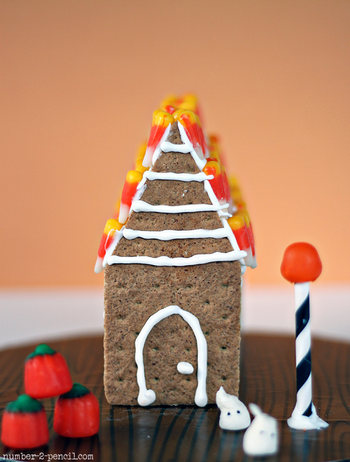 Mini Haunted Gingerbread House