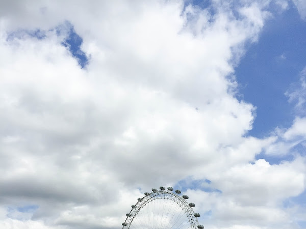 [London,UK] Westminster Bridge & London Eye