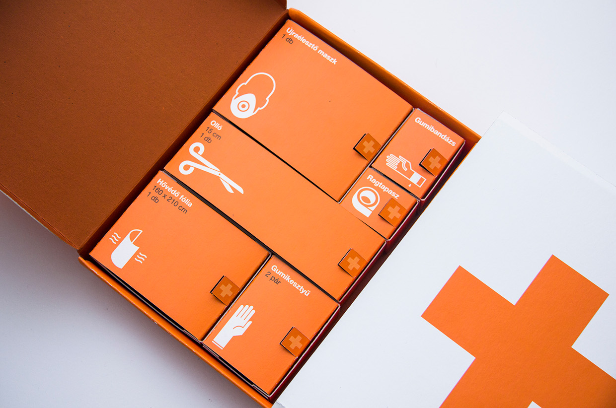 First Aid Kit Redesigned Student Project On Packaging Of
