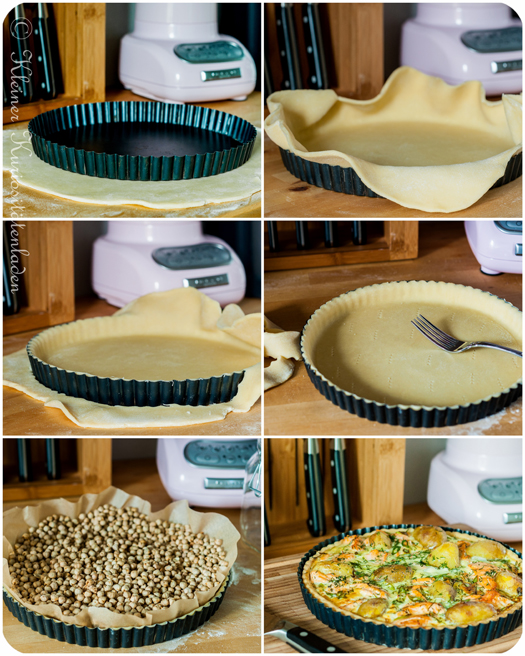 Lachs-Kartoffel-Tarte Making-Of