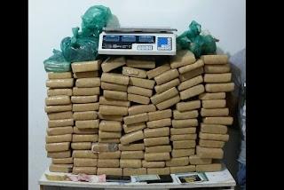 Polícia Militar apreende mais de 100 kg de maconha na Capital