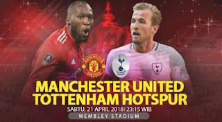 Live Streaming Manchester United vs Tottenham Hotspur - Semifinal Piala FA