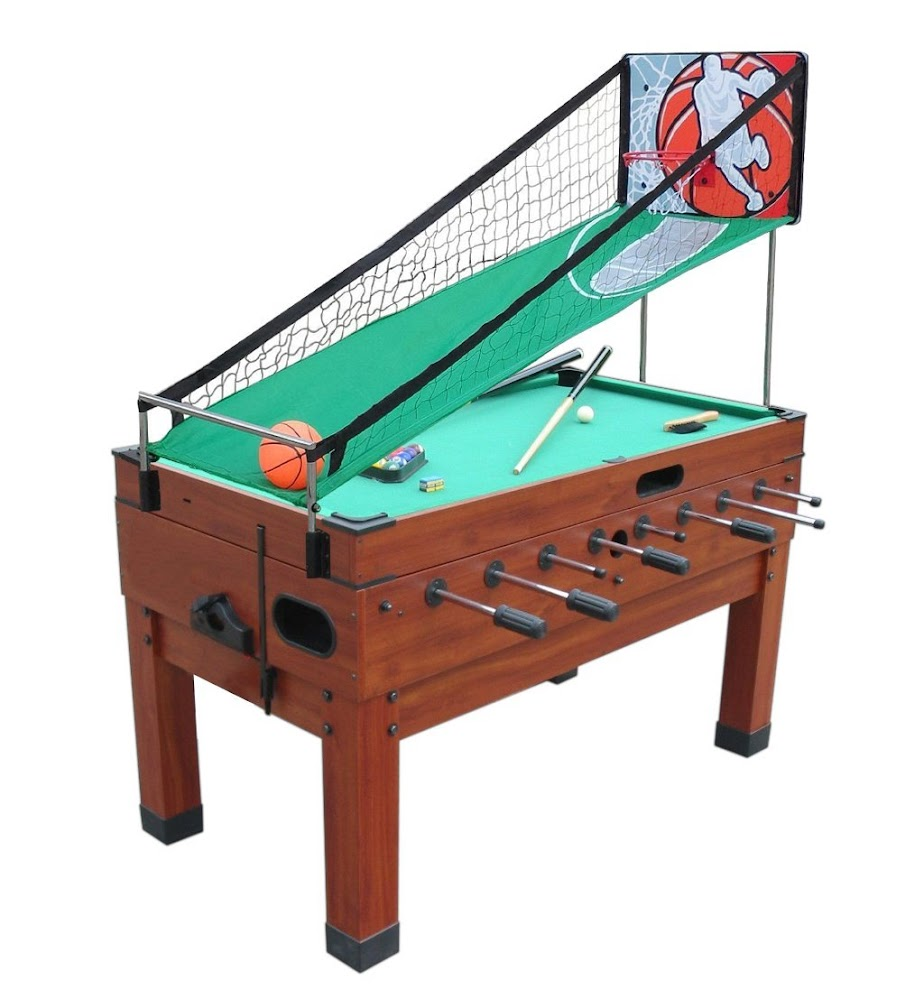 Playcraft Danbury 14 In 1 Multi Game Table, Cherry