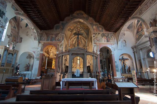 Iglesia Superio San Fermo Italia viaje Verona