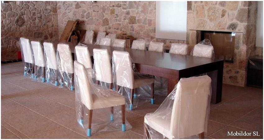 Mesas de comedor a medida - Medidas de mesa de comedor ...