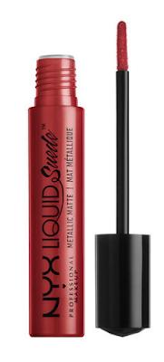 Rouge à lèvres métallique Liquid Suede Sommet Acme NYX