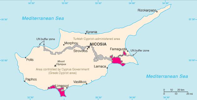 Informacje praktyczne Cypr