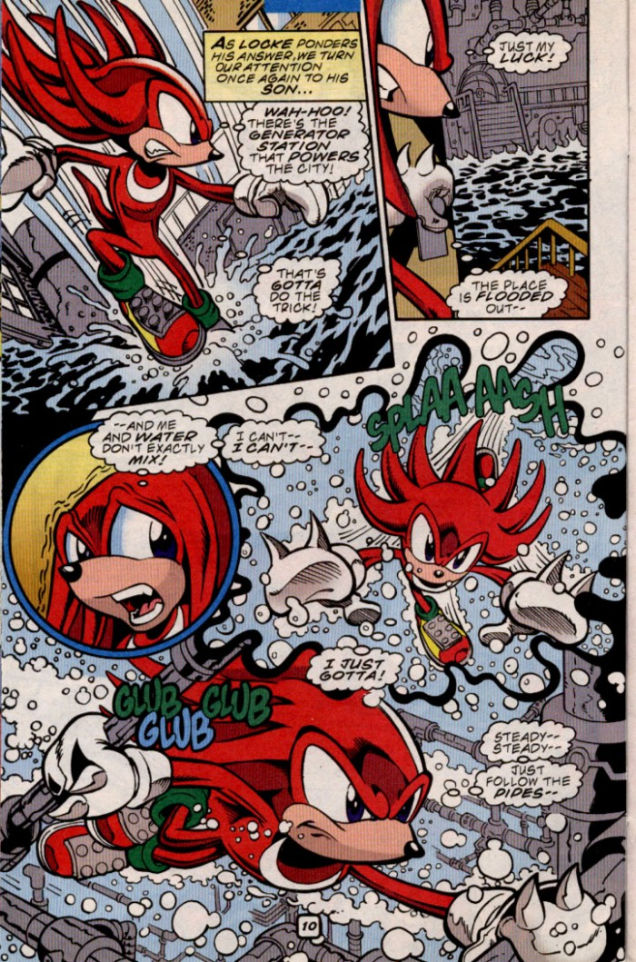 Read online Sonic The Hedgehog comic -  Issue #84 - 10