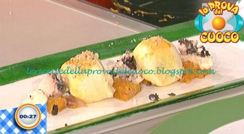Cubotti di zucca al formaggio d'alpeggio ricetta Bongiovanni da Prova del Cuoco