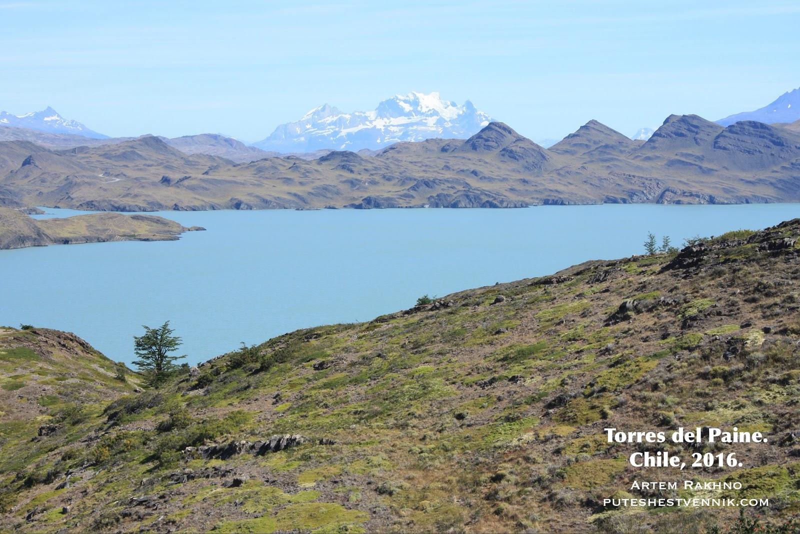 Природа в Торрес-дель-Пайне