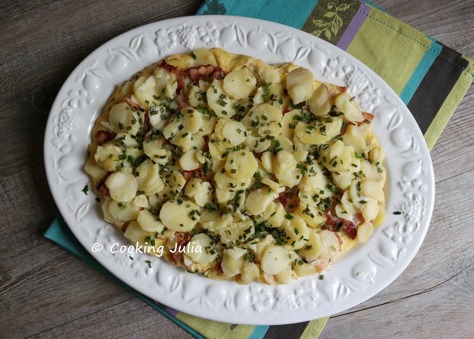 Cooking julia tortilla de pommes de terre au lard - Race de pomme de terre ...