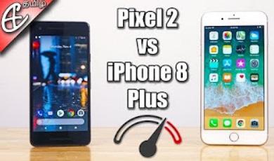 Pixel 2 vs iPhone 8 Plus | Speedtest Comparison!