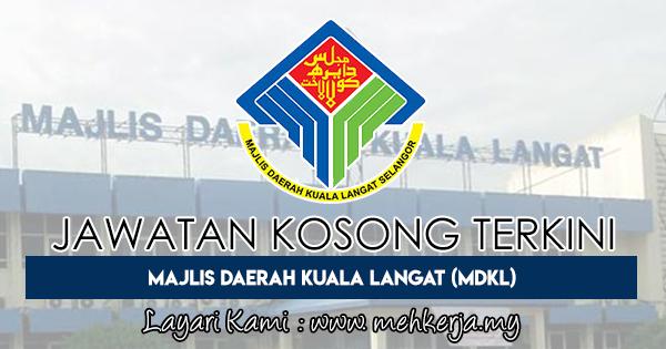 Jawatan Kosong Terkini 2018 di Majlis Daerah Kuala Langat (MDKL)