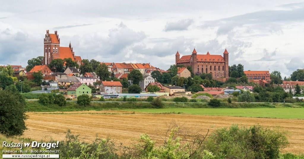 Panorama na Zamek w Gniewie i Farę