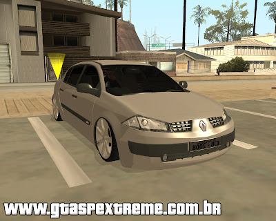 Renault Megane Sedan Edit Fixa para GTA San Andreas