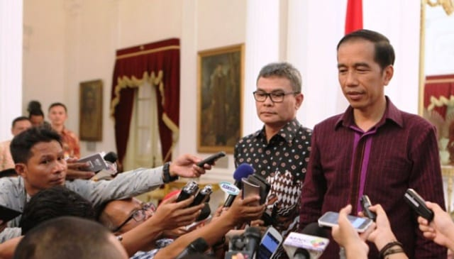 Presiden Jokowi Imbau Stabilitas Keamanan Dijaga Menjelang Pemilu 2019