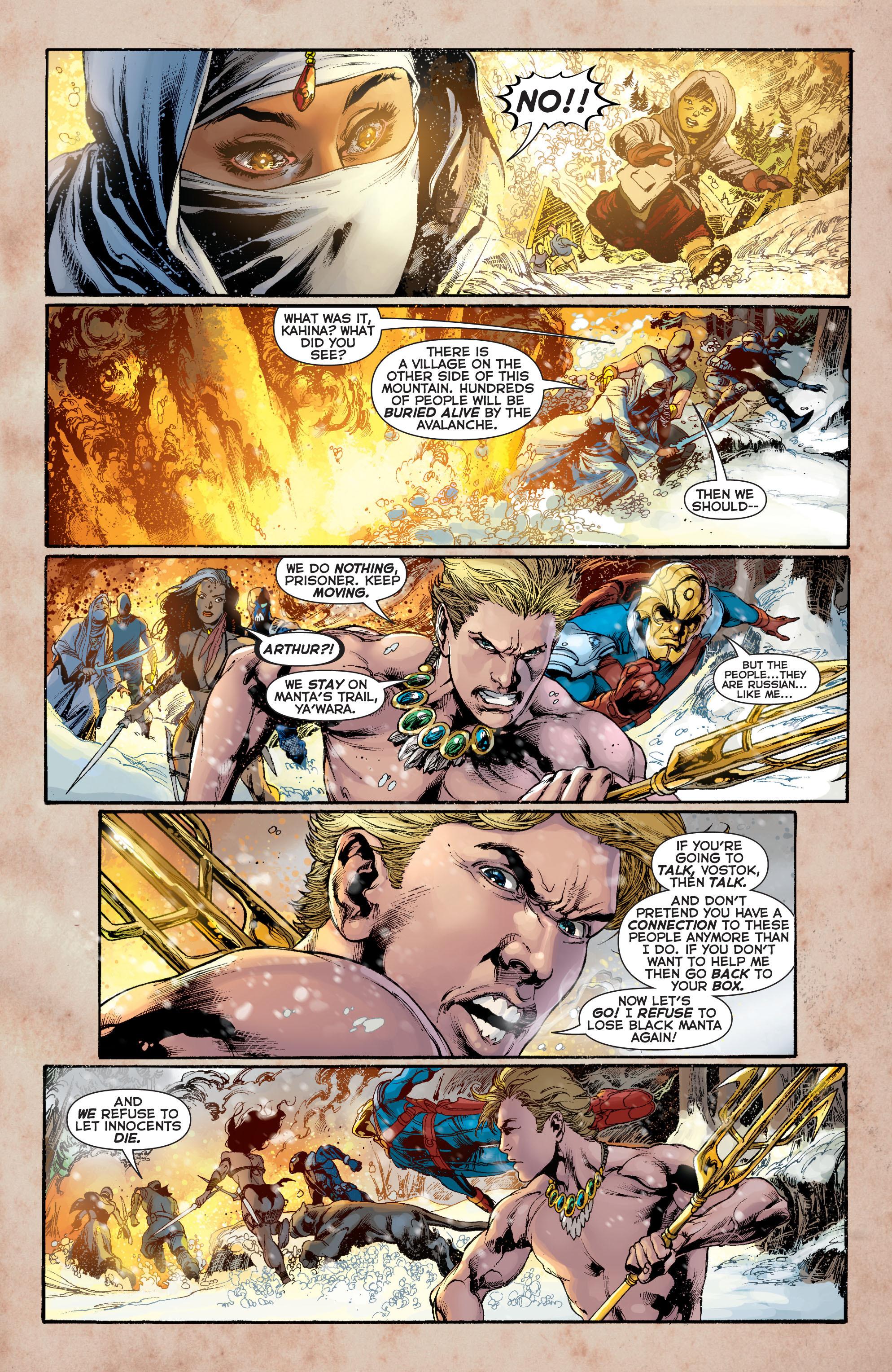 Read online Aquaman (2011) comic -  Issue #8 - 15
