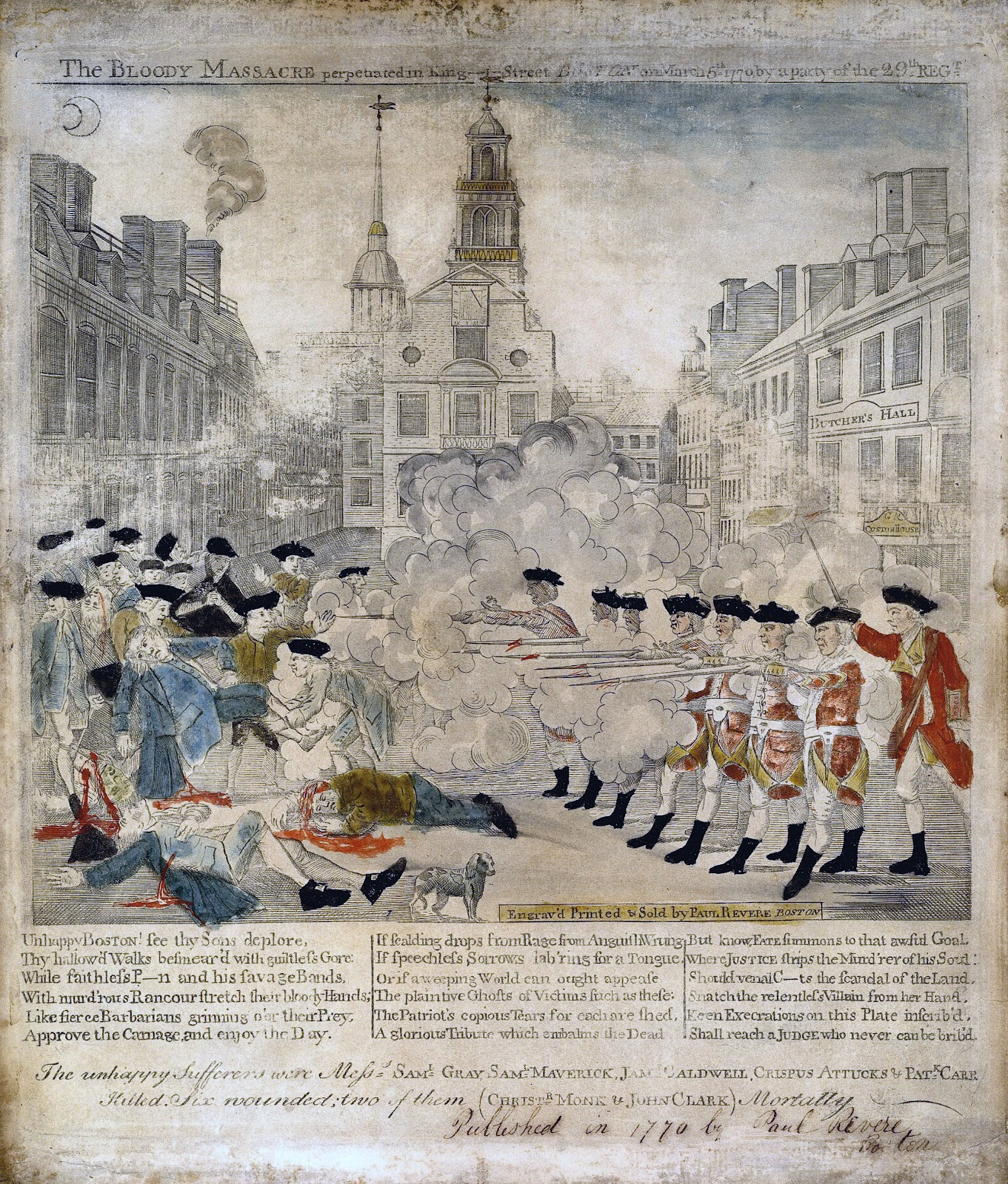 Events that led to the Boston Massacre