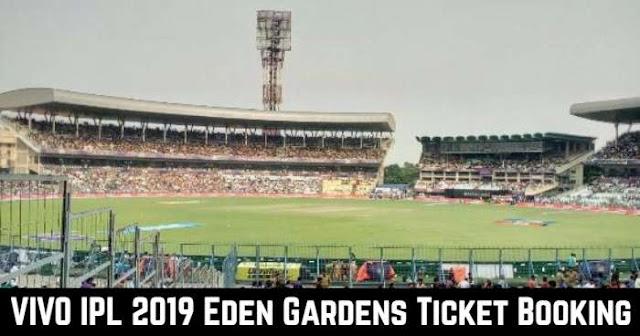 VIVO IPL 2019 Eden Gardens, Kolkata Ticket Booking: Cost and Price List