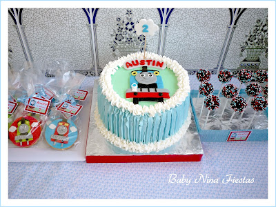 Dulces personalizados Thomas the train