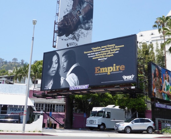 Empire 2017 Emmy consideration billboard