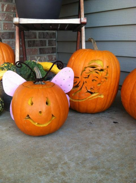 Carroll's Cookies N Crumbs: Gathering Grandpa's Pumpkins