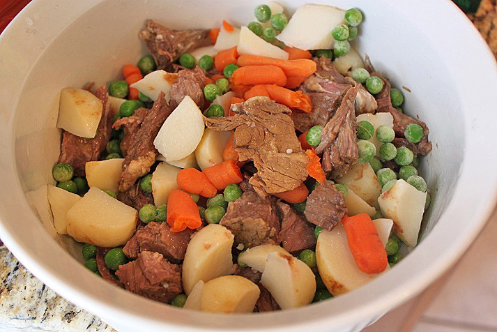 this is the filling for a beef pot pie