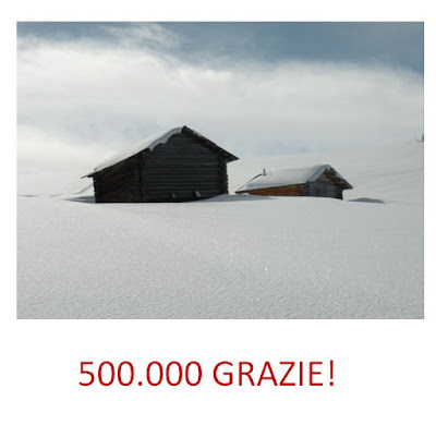 500.000 GRAZIE A TUTTI VOI !!!