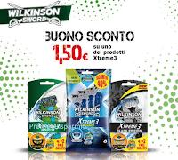 Logo Buono sconto Wilkinson Xtreme3
