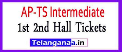 AP TS Inter 1st 2nd Hall Tickets 2019 Download