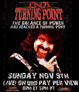 TNA Turning Point 2008 event poster - www.retroprowrestling.com