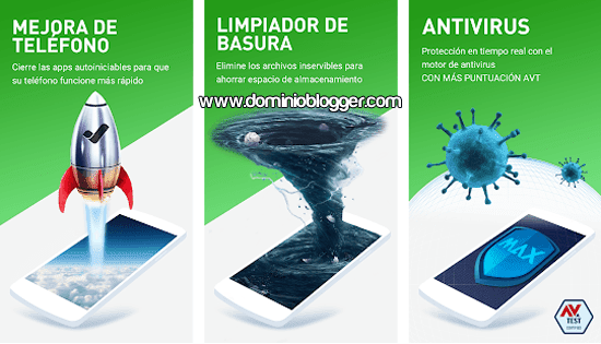 Antivirus MAX para Android