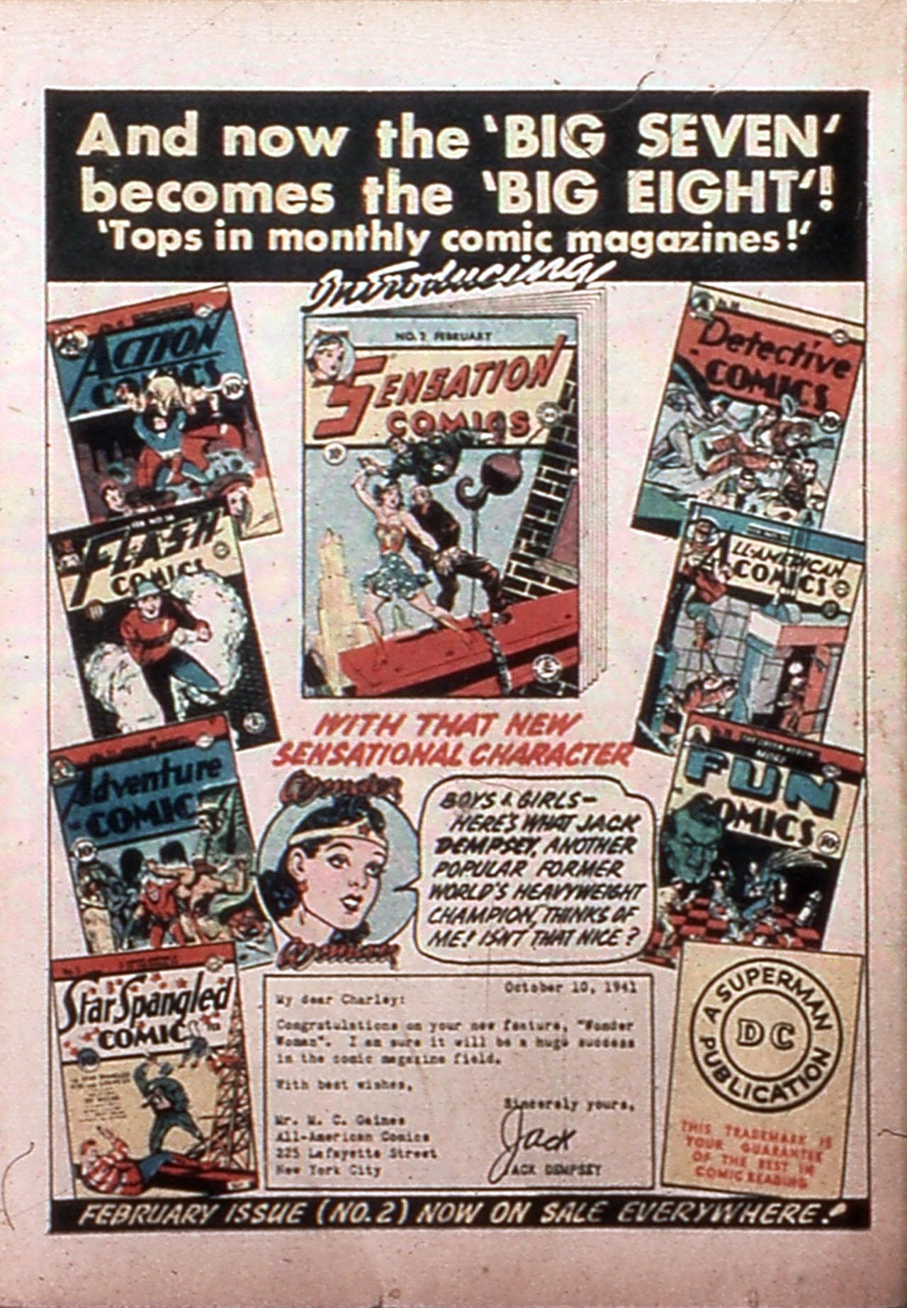 Read online All-Star Comics comic -  Issue #9 - 66
