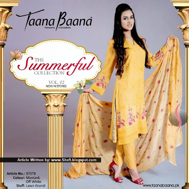 Taana Baana Summerful Summer Collection 2015 Vol-2